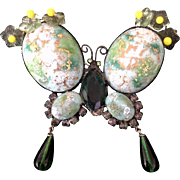 David Mandel--The Show Must Go On--Butterfly Pin