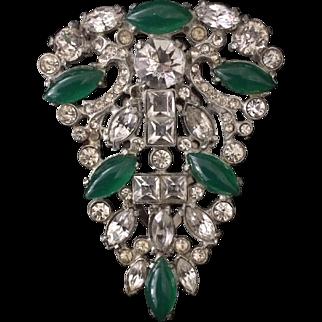 Beautiful 1930's Dress Clip