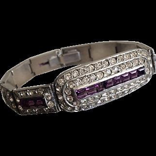 Very 1920's Deco Bracelet