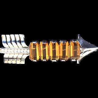 Sterling Reja Arrow Pin