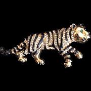 Oleg Cassini Tiger Pin