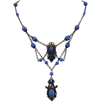 Delicate 1930's Czech Necklace