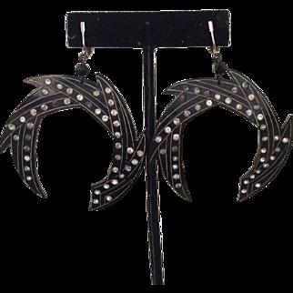 1920's Celluloid Earrings