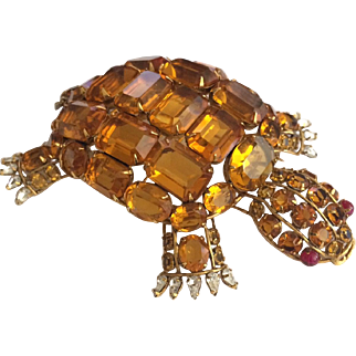 Iradj Moini Large Turtle Pin