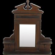 Dutch Dressing Mirror/Hallway Mirror with Shelves