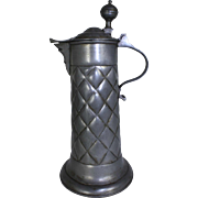 Quilted Pewter Tankard