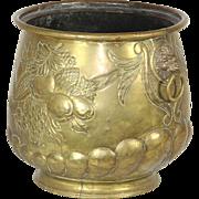 Pressed Brass Pot