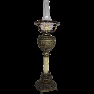 Copper Kerosene Hurricane Lamp