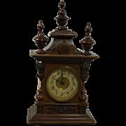 Ornate Petite German Table Clock