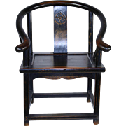 Child's Horseshoe Chair