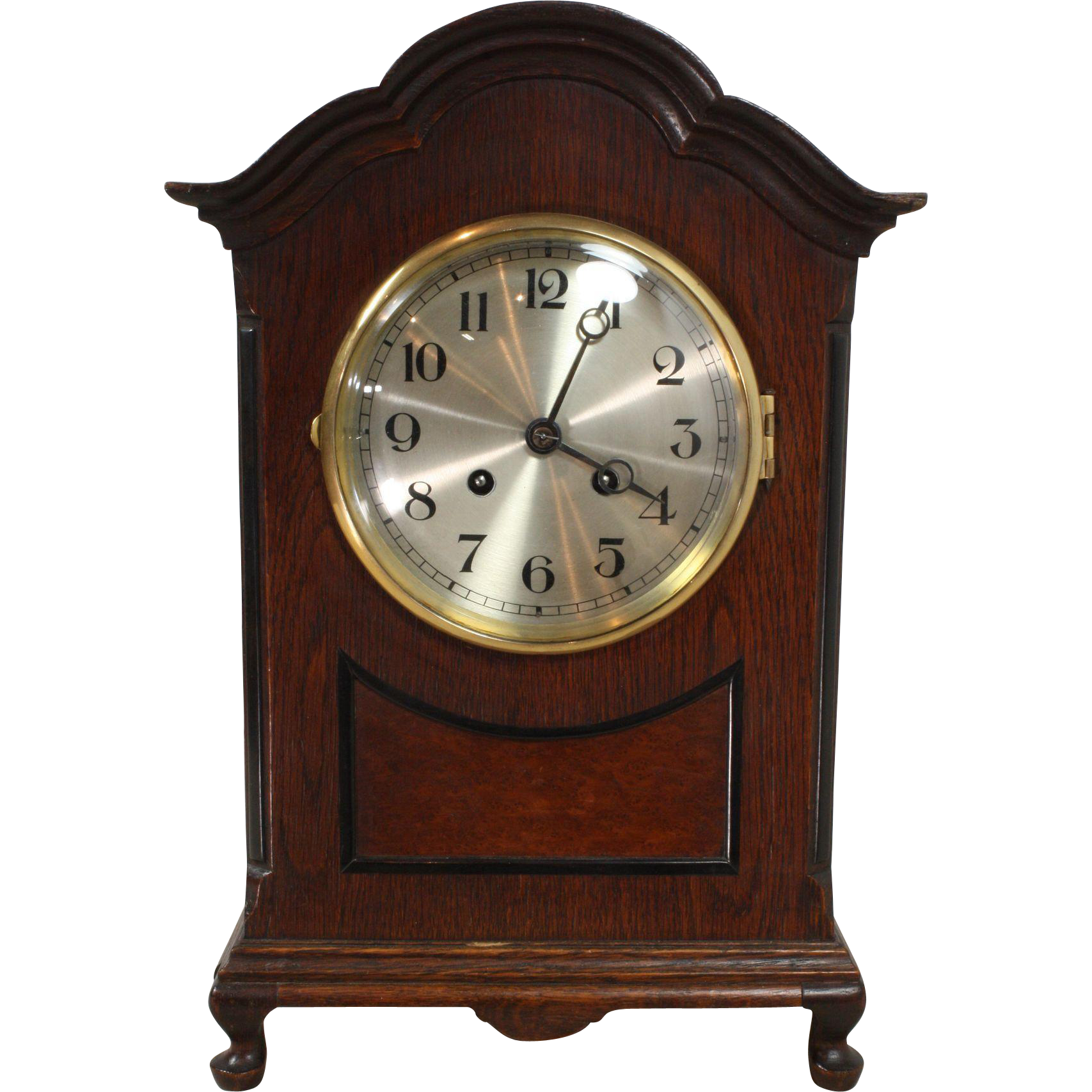 Round table top view png - Classic English Mantle Or Table Clock From