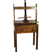 Wood Bookbinding Press