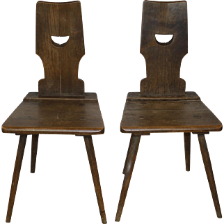 Farm Chairs Set/2