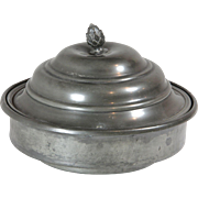 Pewter Dish With Lid