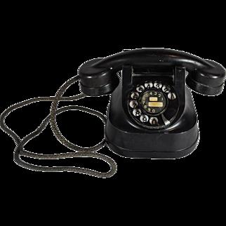 Bakelite Rotary Desk Telephone