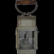 Railroad Hand Lamp