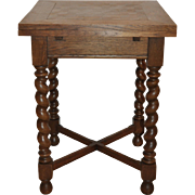 Table with Barley Twist Legs