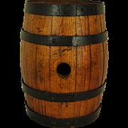 Small Wooden Wine Barrel