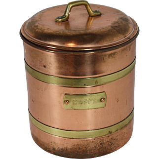 Swedish Coffee Can with Lid