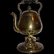 Brass Coffee Pot on Stand