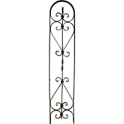 Arched Iron Wall Piece