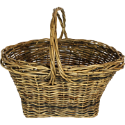 Wicker Market Basket