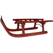 Swiss Painted Sled