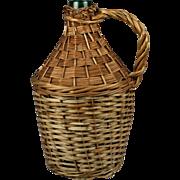Wicker Wine Bottle-Small
