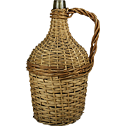 Wicker Wine Bottle-Medium