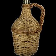 Wicker Wine Bottle-Medium