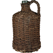 Wicker Wine Bottle-Large