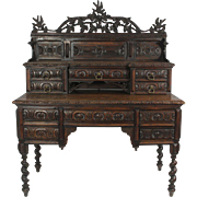 19th Century French Carved Desk