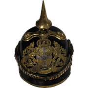 Pre World War I Prussian/German Imperial Pickelhaube Helmet