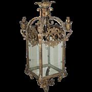Bronze Square Lantern