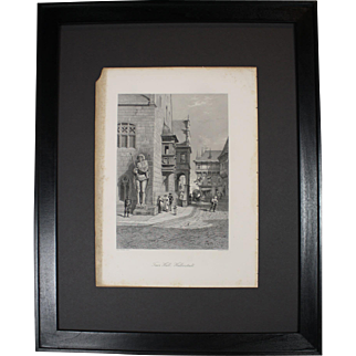 Town Hall, Halberstadt Framed Picture