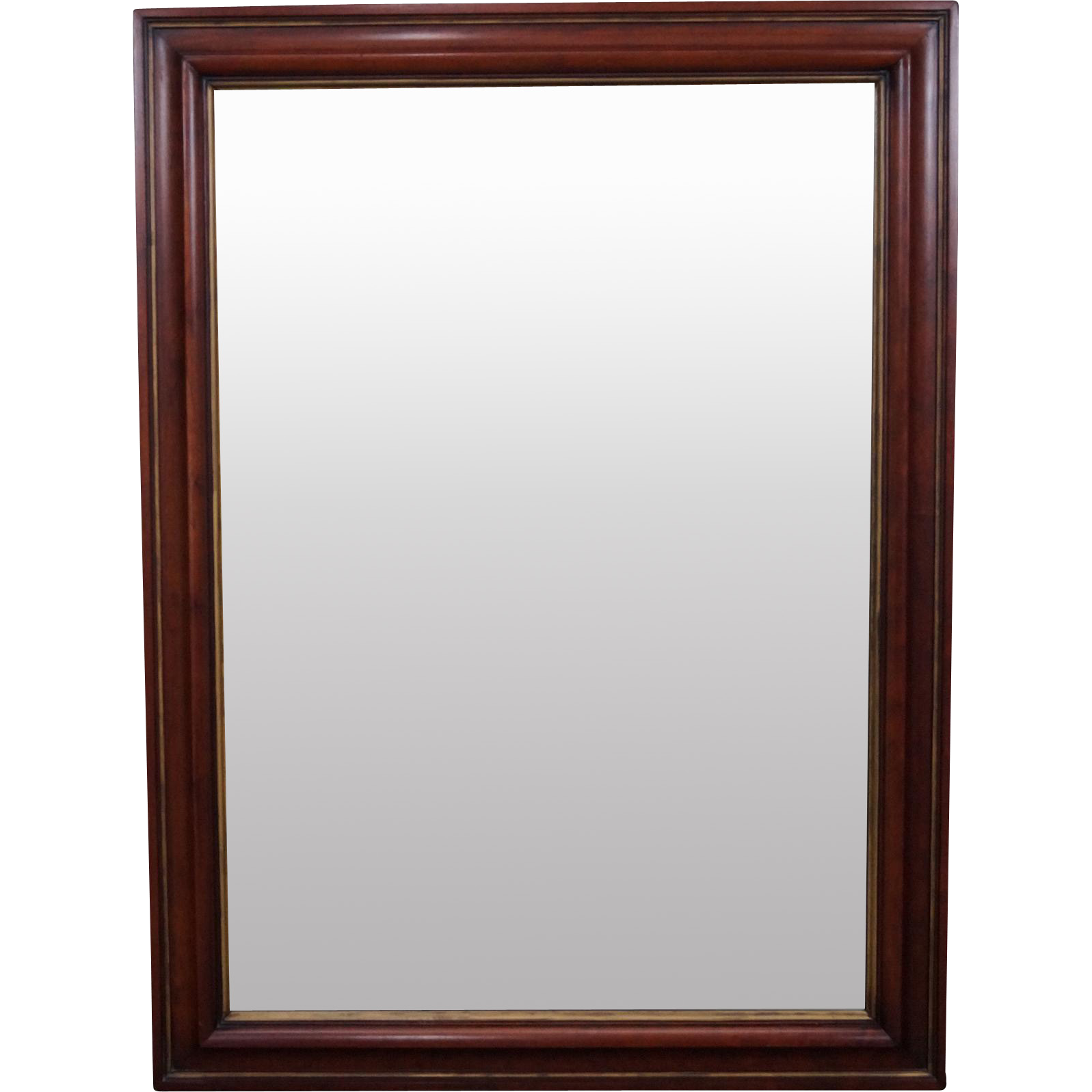 Statton solid cherry hanging wall mirror from bucks county for Hanging mirror