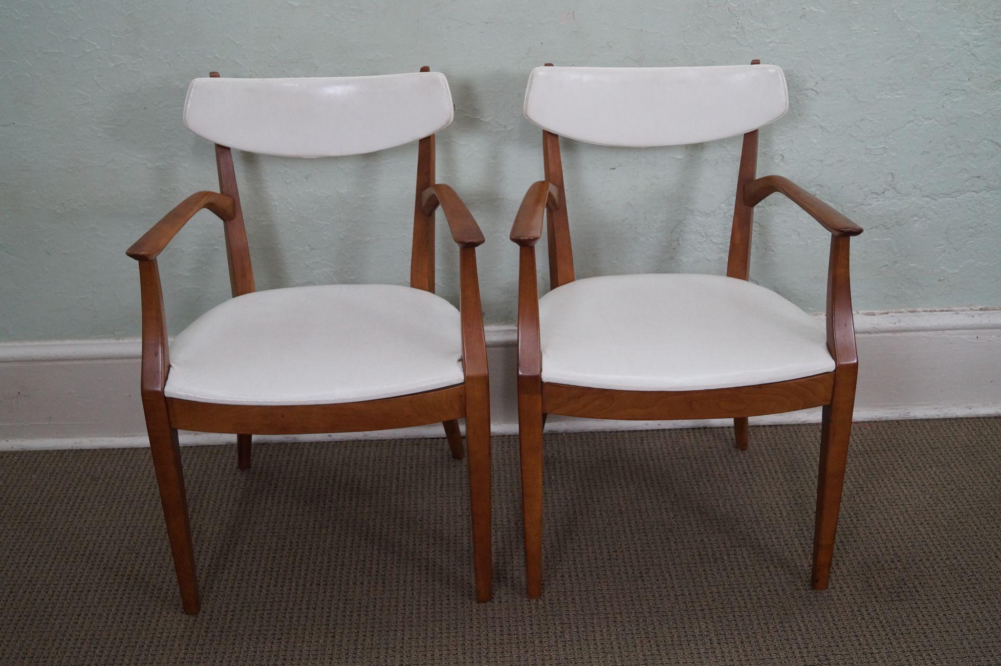 Drexel Suncoast Kipp Stewart Pair of Solid Wood White