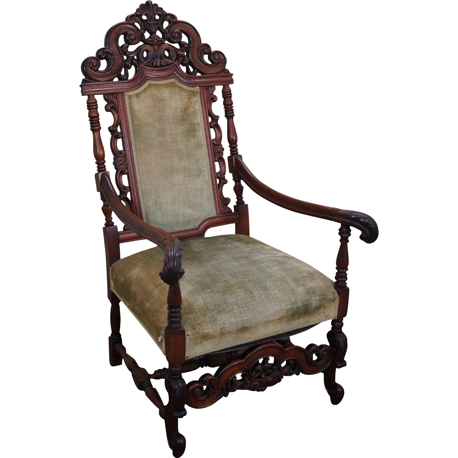 High Back Antique Chair Antique Furniture