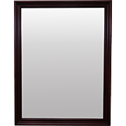 Solid Cherry Chippendale Style Mirror