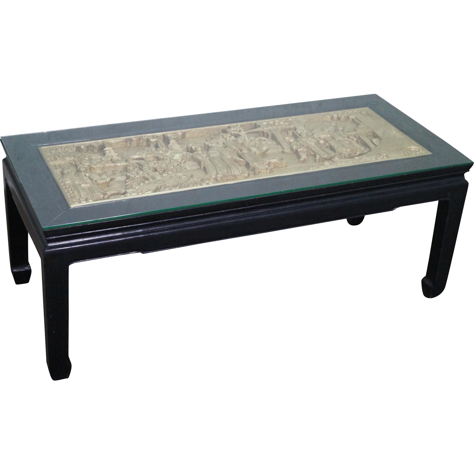 Chinese Relief Coffee Table