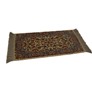 Karastan Ivory Kirman #788 2.2x4 Area Throw Rug Carpet