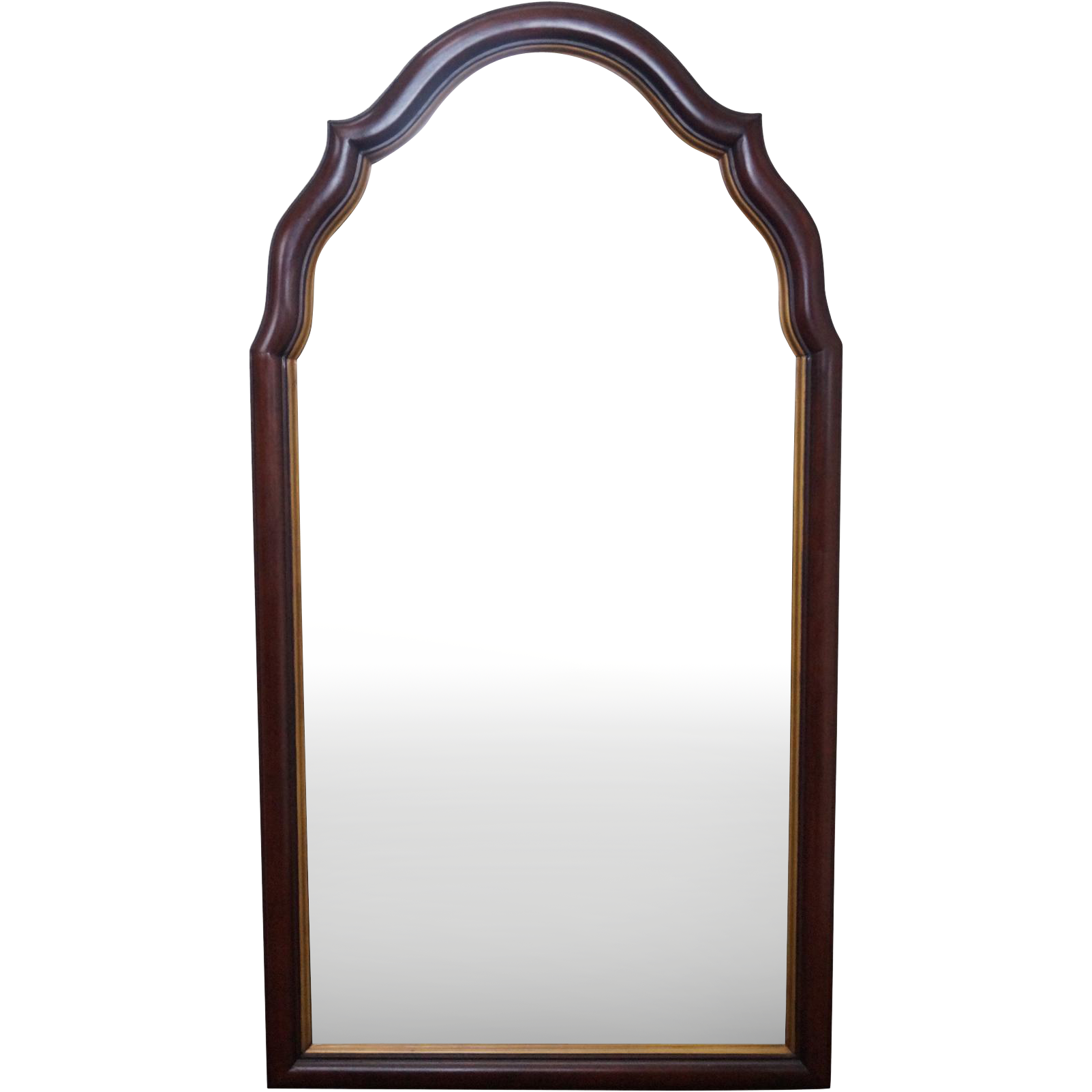 Statton old towne solid cherry arch top hanging wall for Hanging mirror