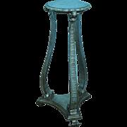 Vintage Italian Silver Gilt Florentine Pedestal