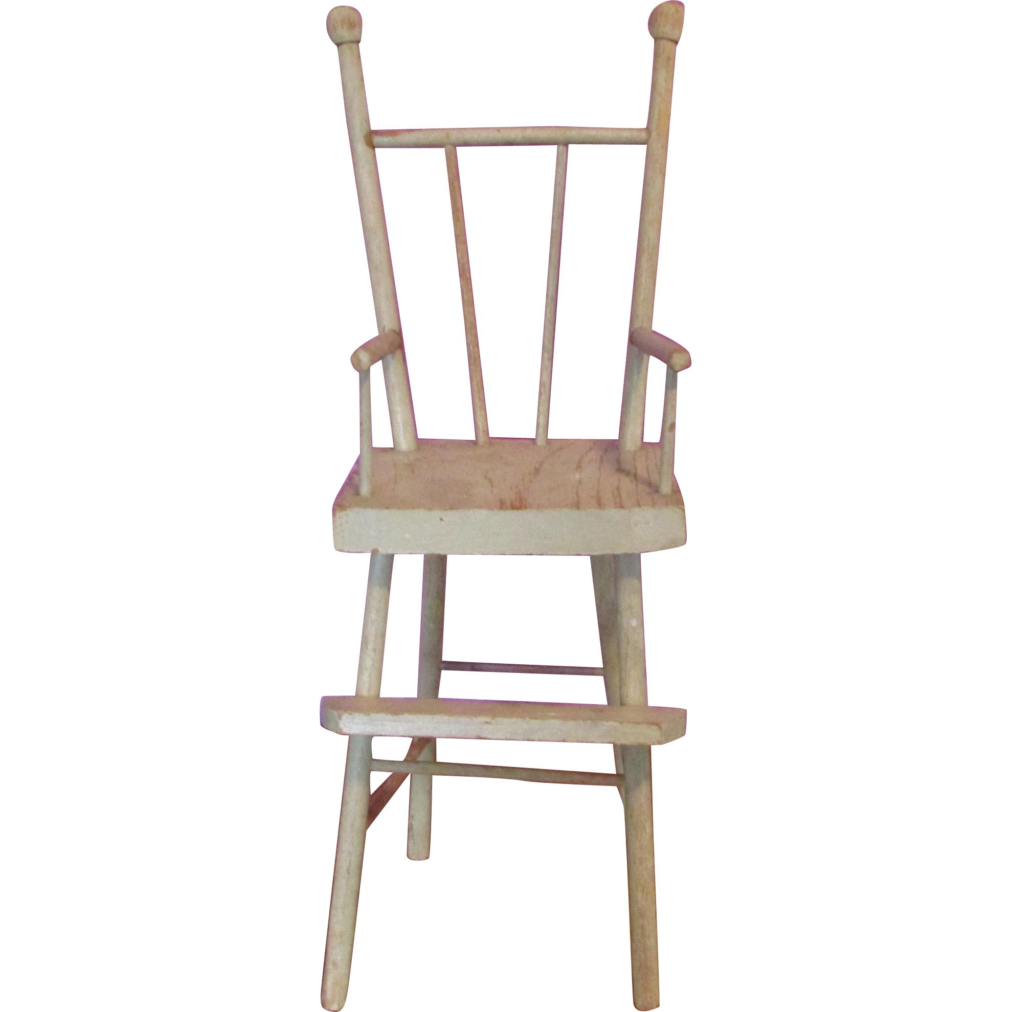 Amazing photo of Adorable Little Antique Wooden Doll High Chair from laurel ks on Ruby  with #6D4840 color and 1979x1979 pixels