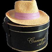 Vintage Miniature Cavanagh Hat with Box Salesman Sample