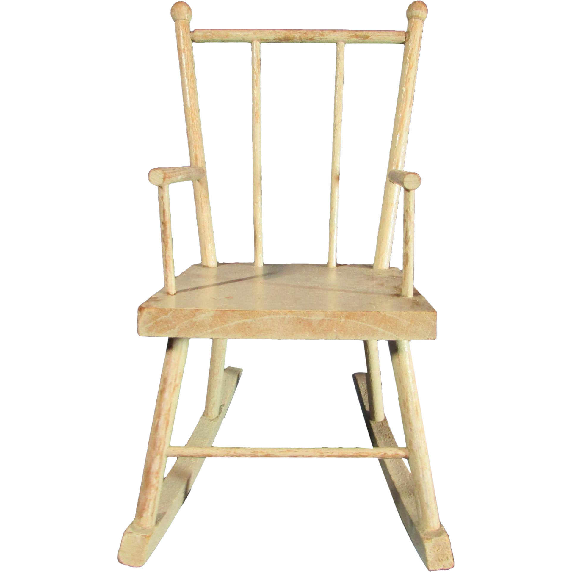 Wonderful Antique Wooden Doll Rocking Chair Original Paint From . Full resolution‎  picture, nominally Width 1923 Height 1923 pixels, picture with #937438.