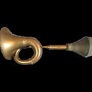Antique Oxidized Brass Car Horn