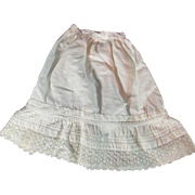 Nice Vintage Petticoat For Your Antique Doll