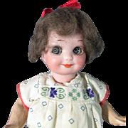 "SALE - Adorable 7"" A.M. 253 NobbiKid Googly"