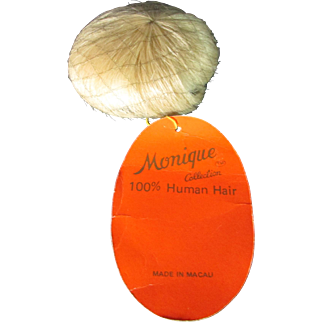 "Monique Human Hair Wig - Baby Doll - ""Teeny Weenie"" Size 4-5"""